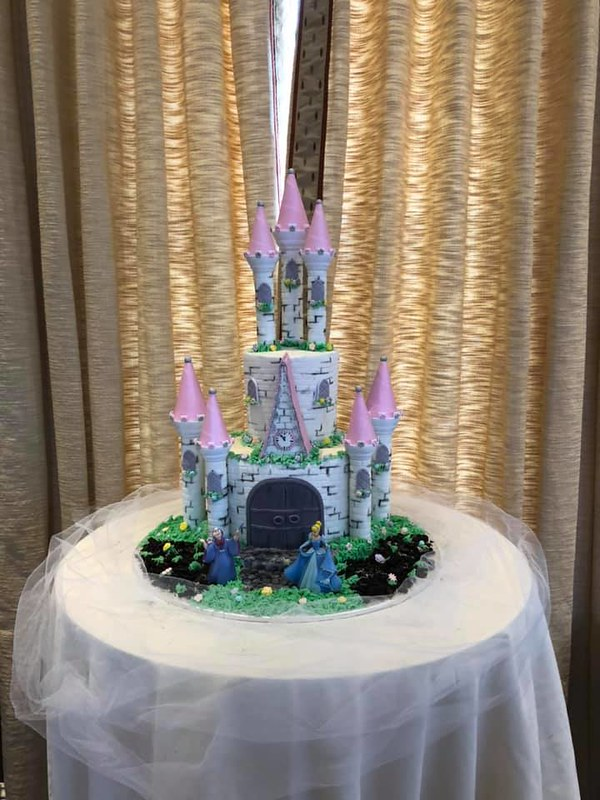Castle Cake by For Goodness Cakes and Baked Goods