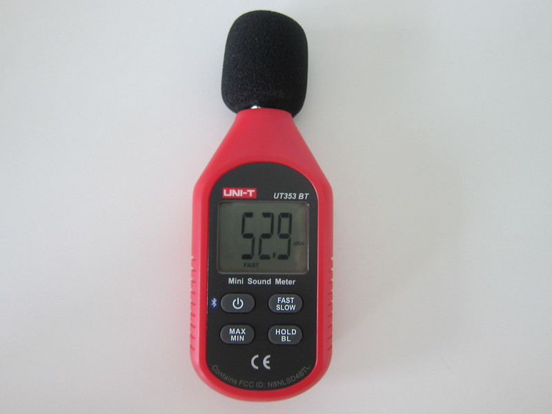 UNI-T Mini Sound Lever Meter (UT353BT) - Switched On