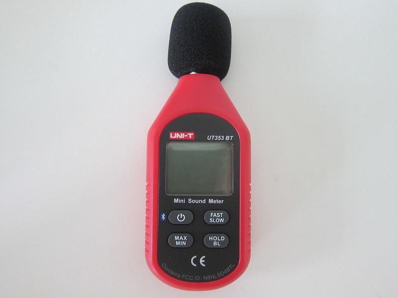UNI-T Mini Sound Lever Meter (UT353BT) - Front