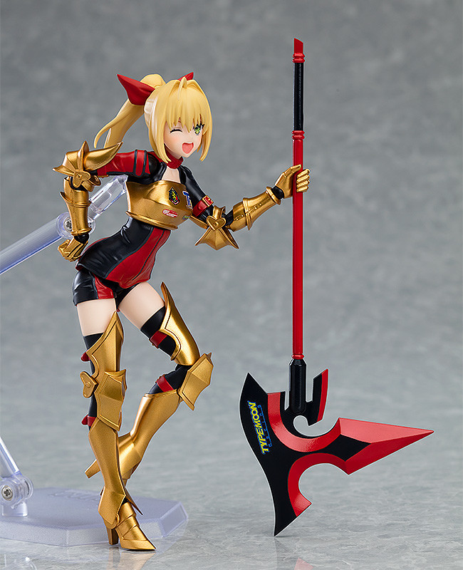 figma『GOODSMILE RACING & TYPE-MOON RACING』尼祿・克勞狄烏斯 RACING ver.(ネロ・クラウディウス レーシングver.)