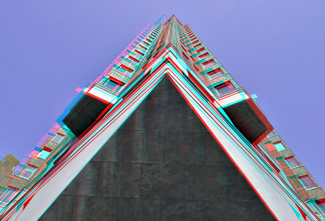 Building Statendam Binnenrotte Rotterdam 3D