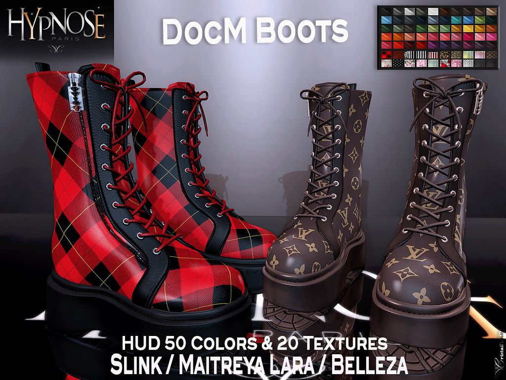 HYPNOSE – DOCM BOOTS