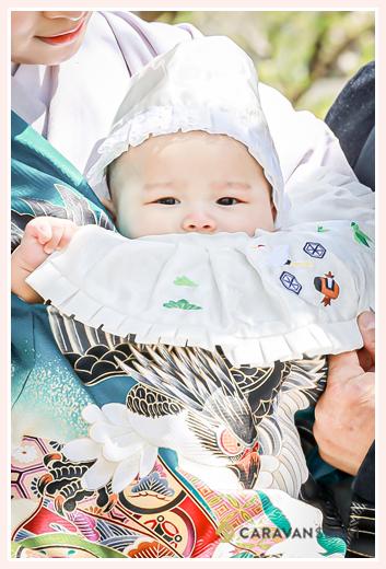 お宮参り 3か月の男の子 愛知県名古屋市