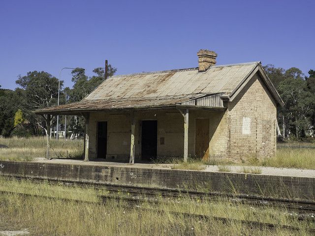 former Ben Bullen Railway Station - built 1882 - see below