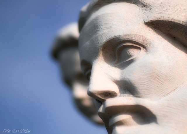 Saint Christopher sculpture