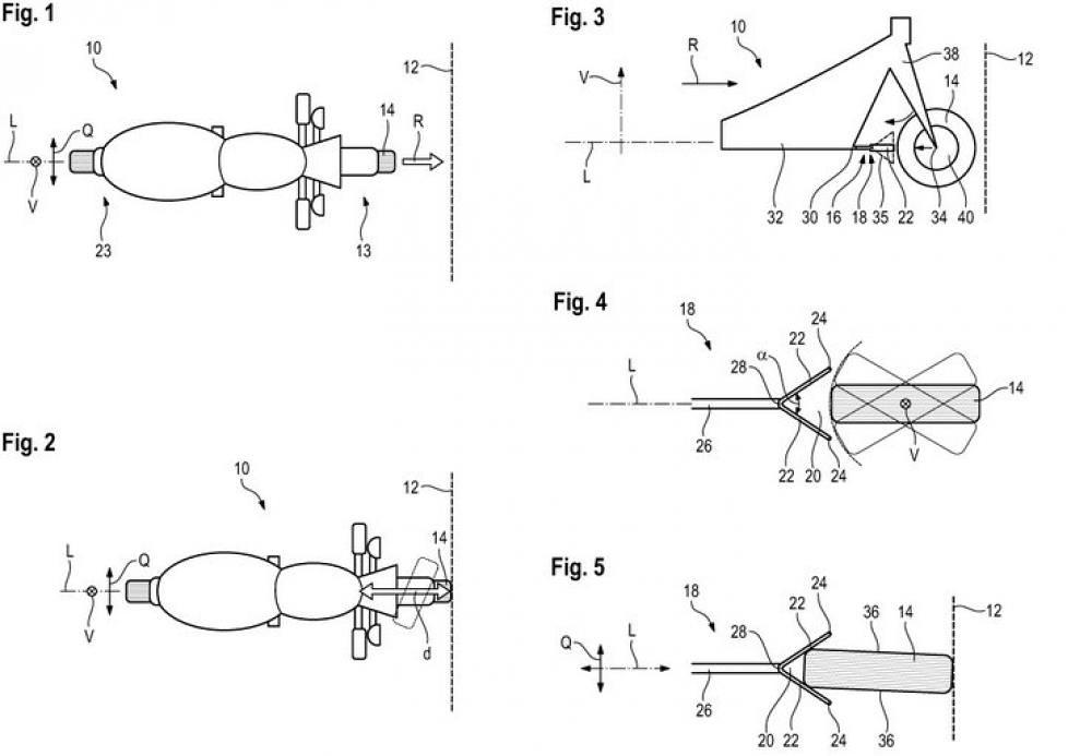 BMW Sticking Lock Crash Patent