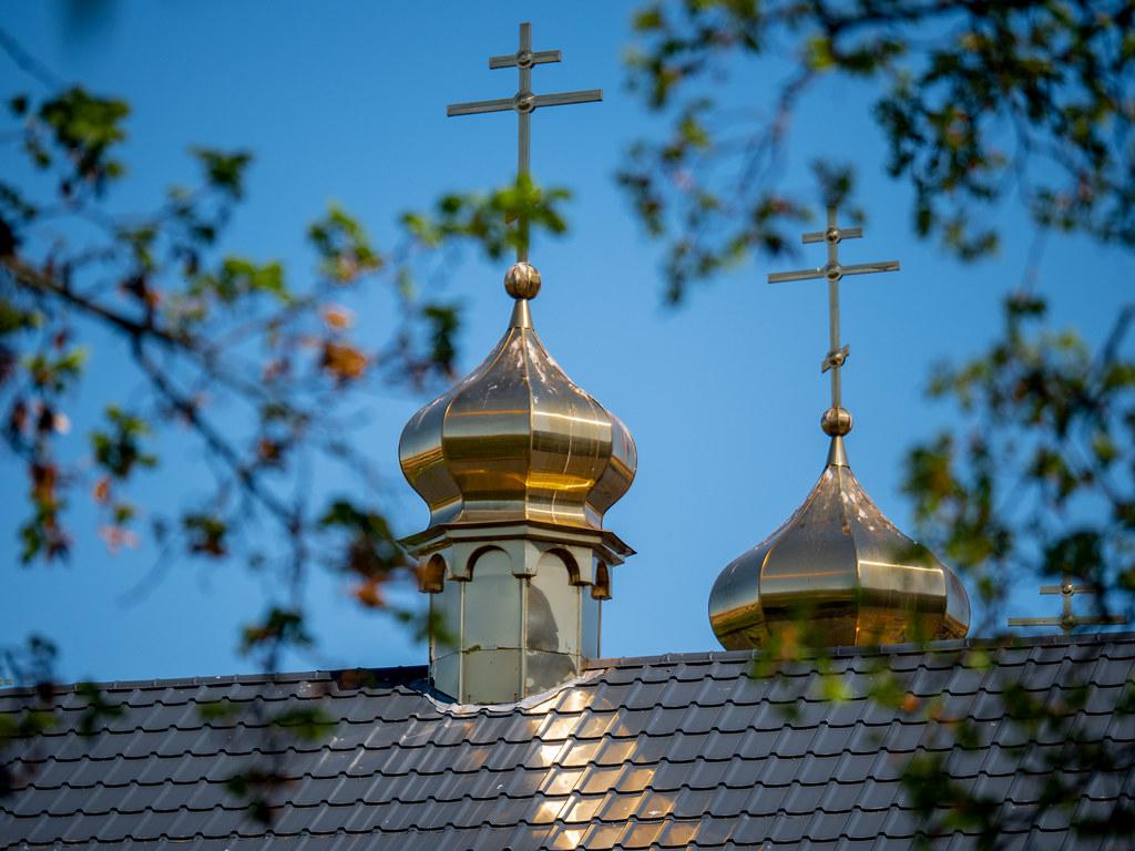 Kleine Russisch Orthodoxe Kirche   Typisch Berlin