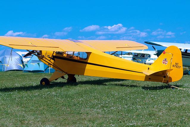 N87927   (NC87927) Piper J/3C-65 Cub [15545] Oshkosh-Wittman Regional~N 28/07/2008