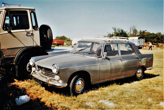 Peugeot 404 SL Berline Rosnay (36 Indre) 26-08-91a