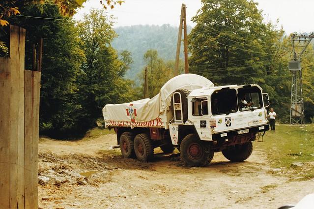 MAN LKW KAT 1 7t 6x6 ONG Atlas Kačanik Kosovo 2000a