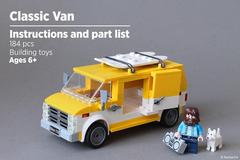 Classic Van | Instructions and part list