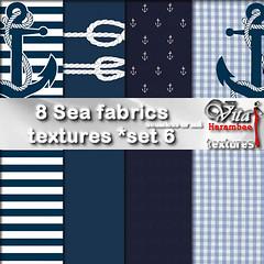 8 Sea fabrics FP set6