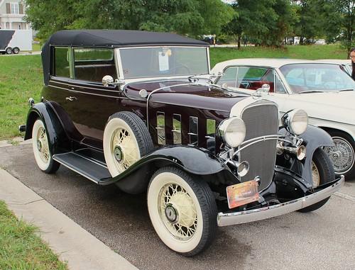 1932 Chevrolet Confederate Landau Phaeton