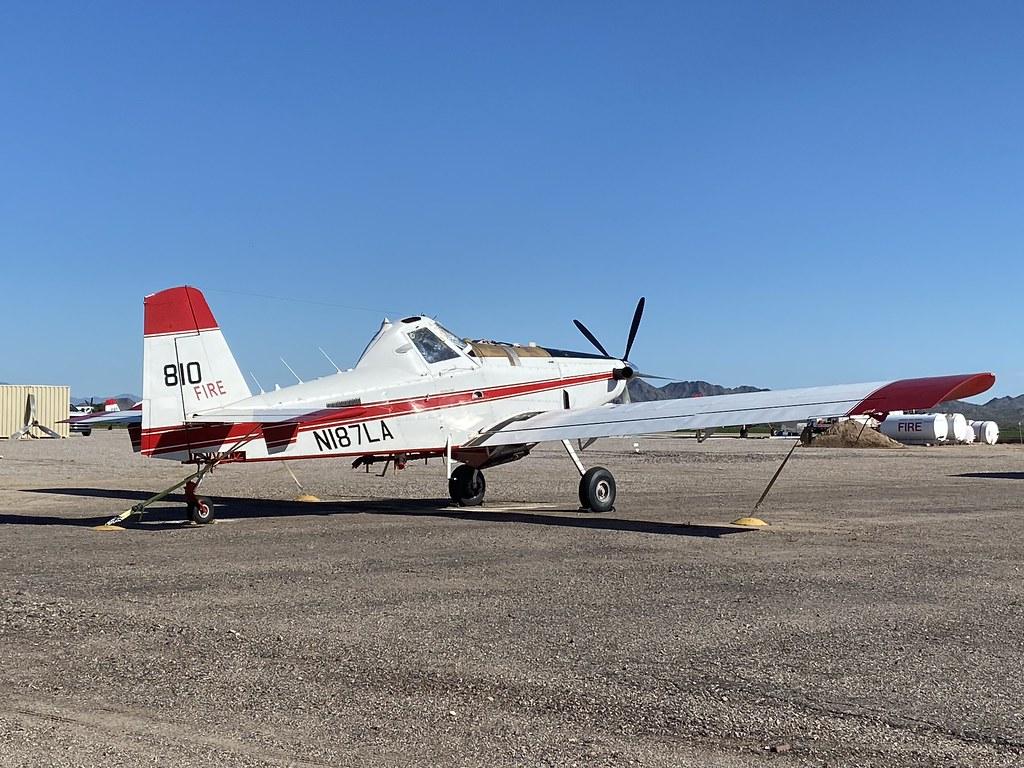 N187LA/810, Air Tractor AT-802  A (802A-0108), Buckeye/Pierce 21st March 2020