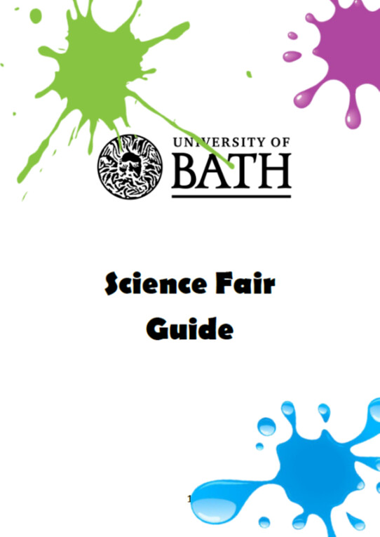 front cover of the guide booklet