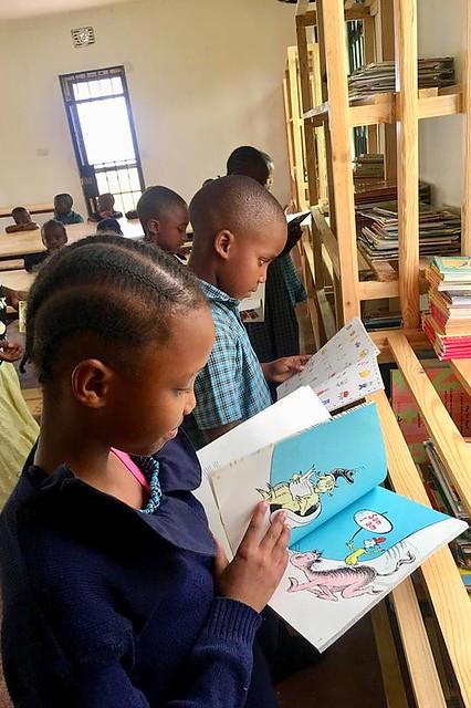 Elsey Kirabo Memorial Library/Heart to Care, Tanzania, 2020