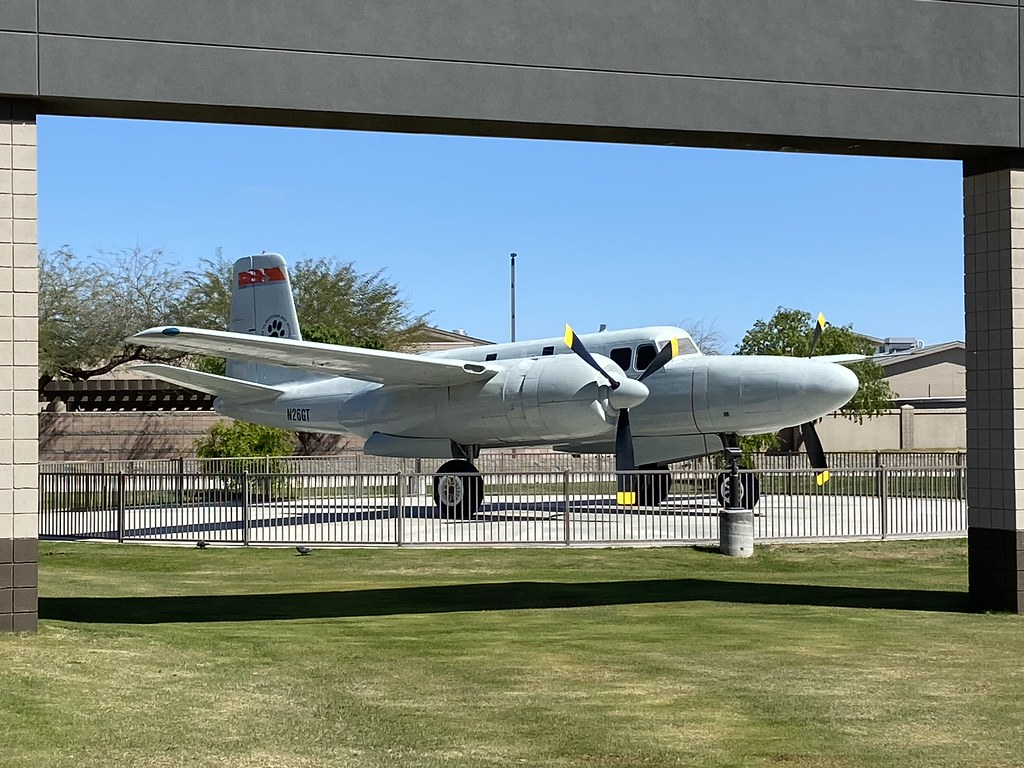 N26GT, Douglas A-26B Invader, South Mountain High School (6934), Phoenix 21st March 2020
