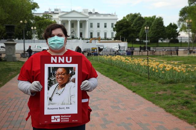 Nurses Protest at White House — April 2020