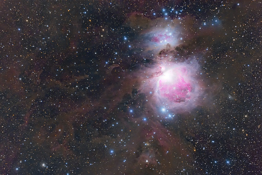 The Orion nebula (reprocessing)