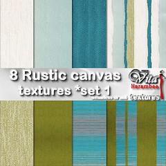 8 Rustic canvas FP set1