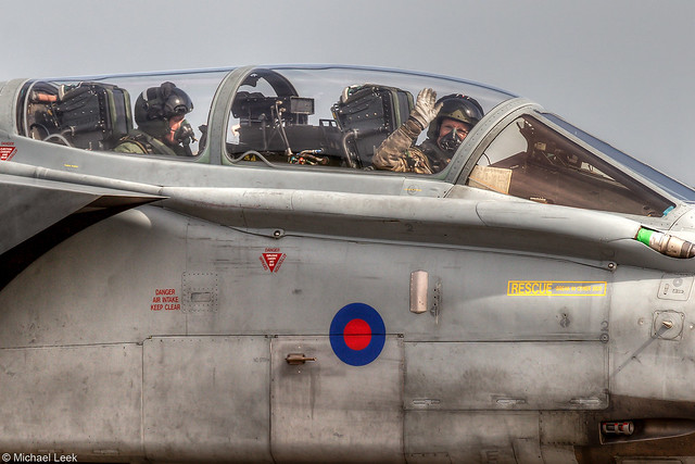 RAF Panavia Tornado GR4, ZD792/100; XV (R) Squadron, RAF Lossiemouth, Scotland