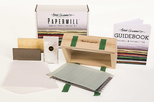 Arnold Grummer's Papermill Complete Kit Contents