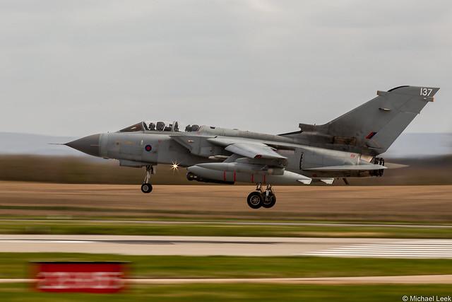RAF Panavia Tornado GR4, ZG791/137; XV (R) Squadron, RAF Lossiemouth, Scotland