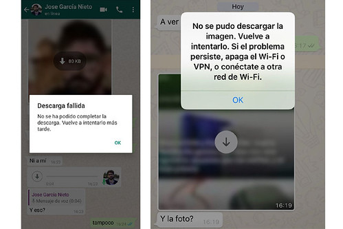 Error de Descarga en WhatsApp: Descarga Fallida de Archivos