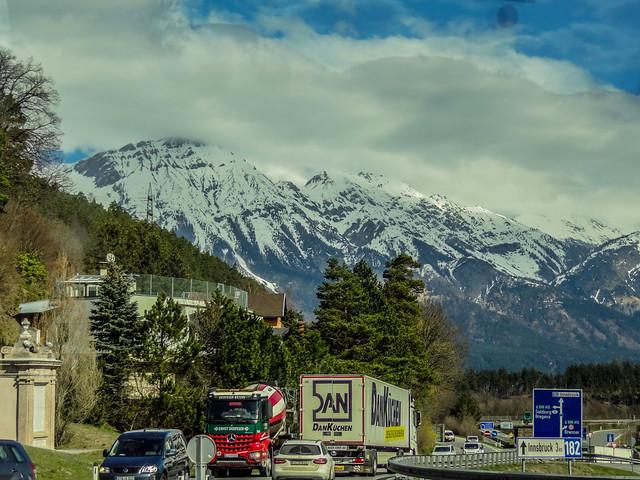Picture taken in Autobahn in Tyrol, Austria.