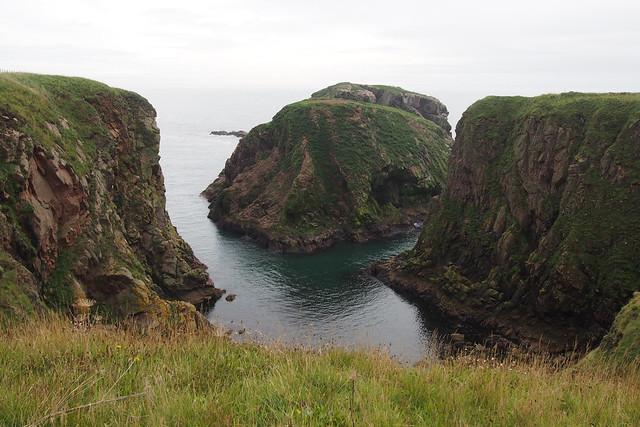 The coast north of Cruden Bay