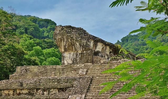 MEXICO, Chiapas,  Historisches Highlight - die Mayastätte Palenque , 19674/12588