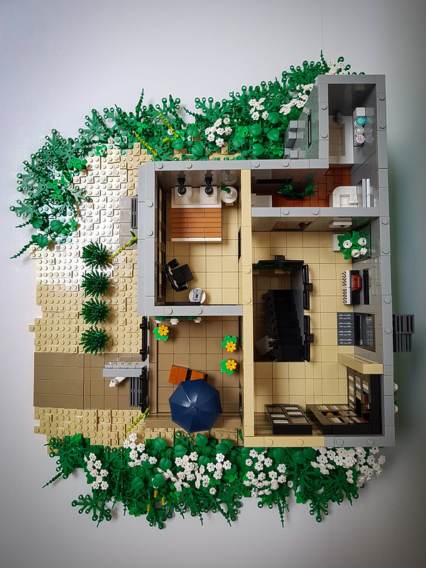 Daisy Hill House MOC. Overview upper floor.