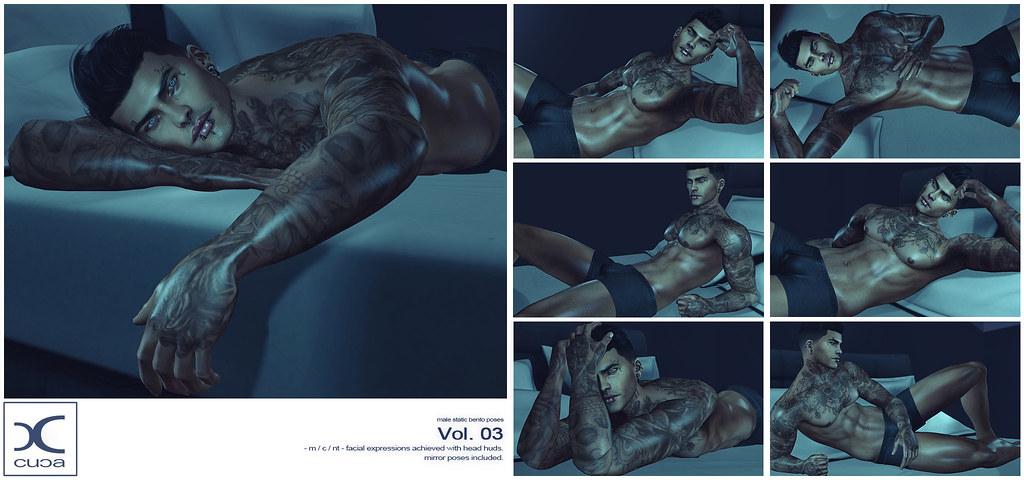 Male Static Bento Poses Vol.03 @ Flourish!