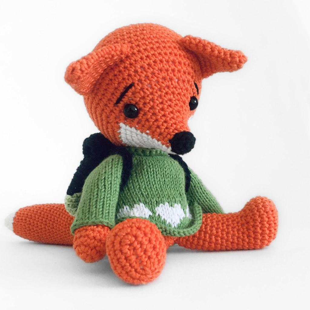 Knit or Crochet 35 of the CUTEST Amigurumi Foxes ever! | amiguru.me | 1024x1024