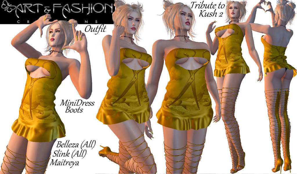 TRIBUTETOKUSH2 OUTFIT BY ART & FASHION