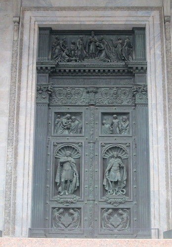St Isaac's Cathedral, St Petersburg, Door