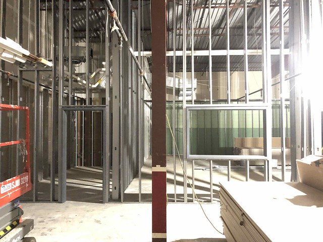 5000 Building Renovation & Relocation Update: Phase 2, April 2020