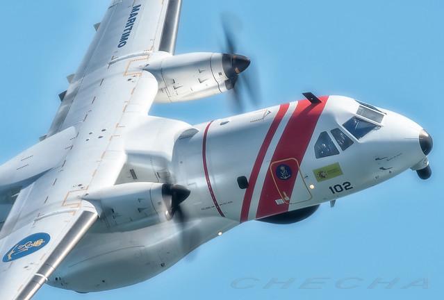 CN-235 Salvamento Marítimo.