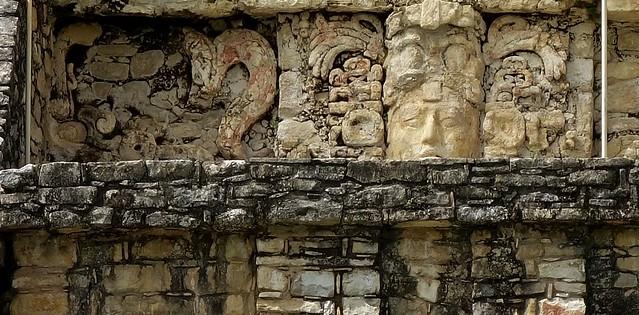 MEXICO, Chiapas,  Historisches Highlight - die Mayastätte Palenque , Relief,  19672/12586