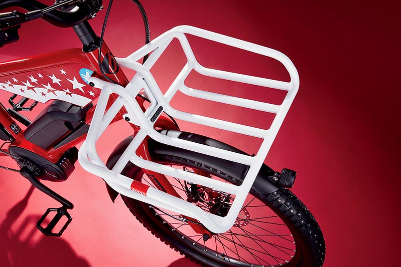 Benno Bikes Boost E Air Zermatt edition Glamour Detail Tray