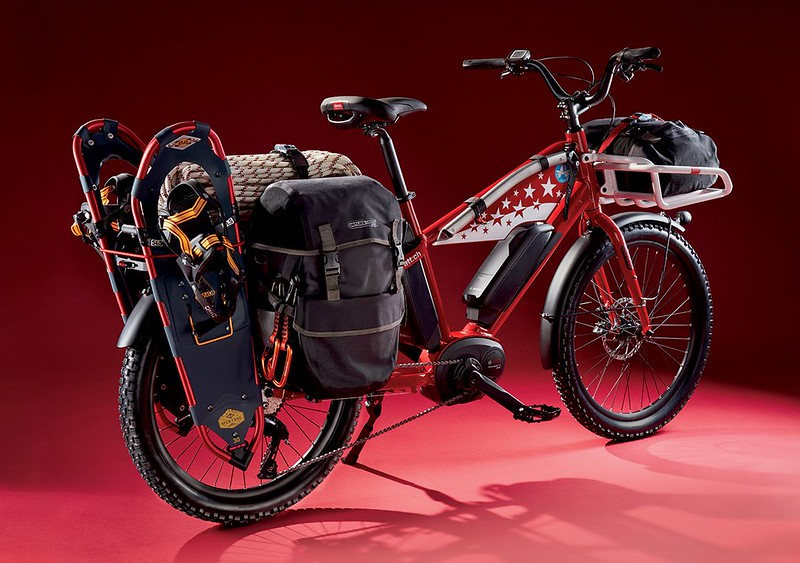 Benno Bikes Boost E Air Zermatt edition Glamour Bike Loaded
