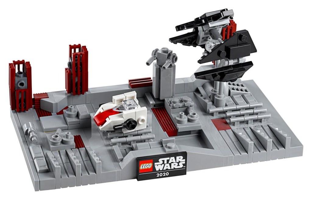 精巧再現緊張刺激的追逐戰! LEGO 40407《星際大戰六部曲:絕地大反攻》死星二號戰役(Star Wars Death Star II Battle)