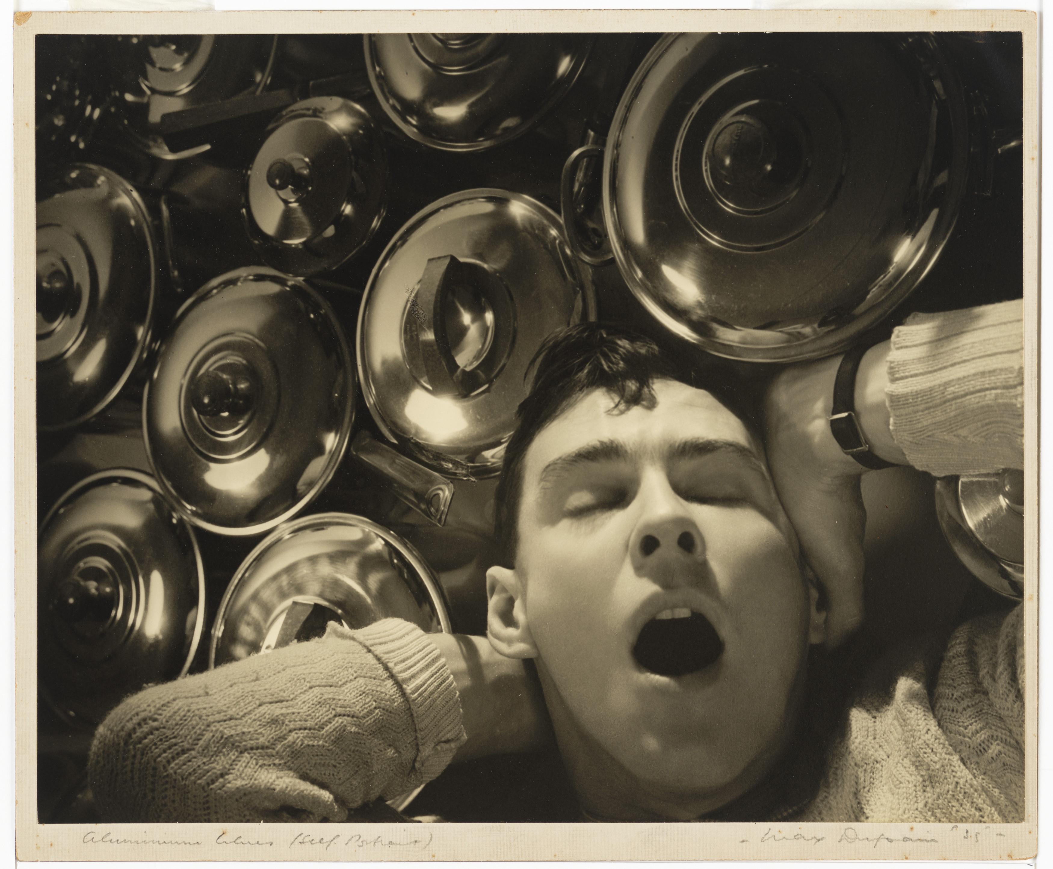 Aluminium blues (self portrait), 1935, by Max Dupain