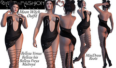 MOON WITCH OUTFIT BY ART & FASHION