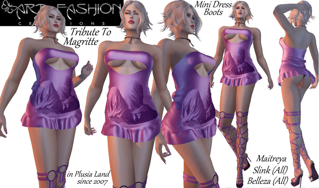 TRIBUTETOMAGRITTE OUTFIT BY ART & FASHION