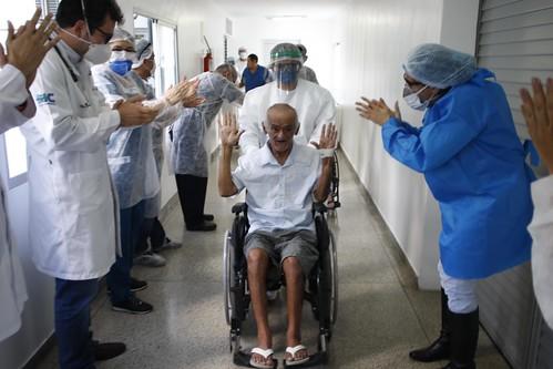 21.04.20. Liberação de pacientes Covid 19 Fundação Doutor Thomas