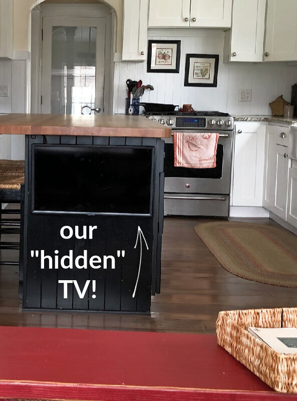 our hidden tv