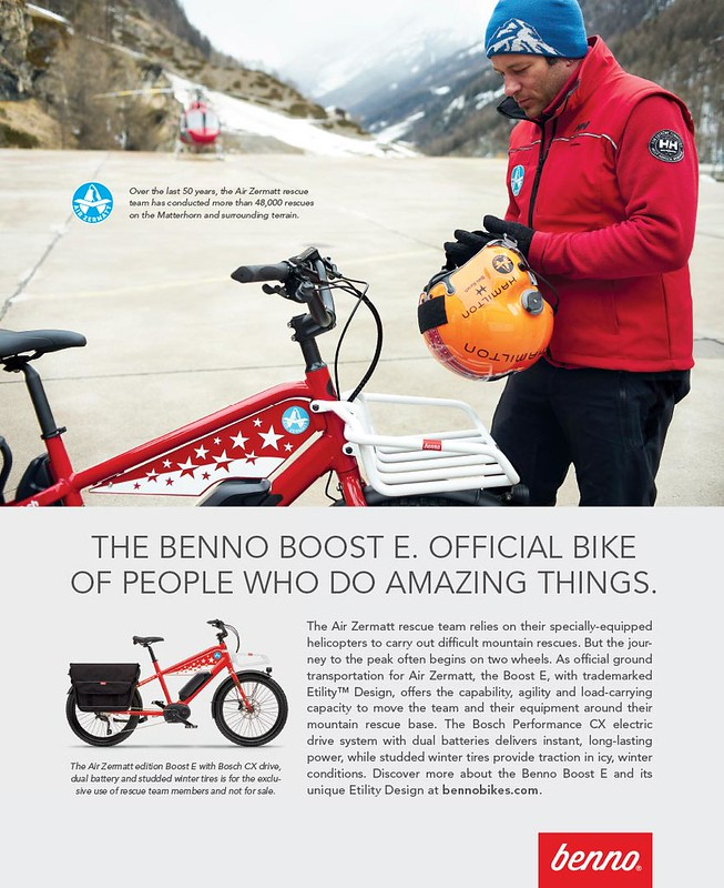 Air Zermatt edition Benno Bikes Boost E 6-19 F HR