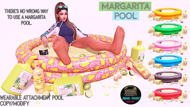 Junk Food - Margarita Pool Ad