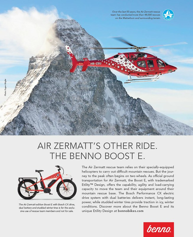 Air Zermatt edition Benno Bikes Boost E 4-19 F HR